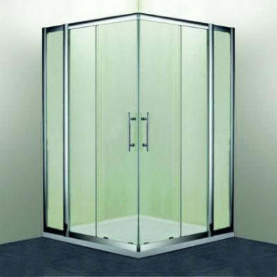 Душевой уголок RGW HO-311, 030631133-11, 130 х 130 x 195 см, дверь раздвижная, стекло прозрачное, хром