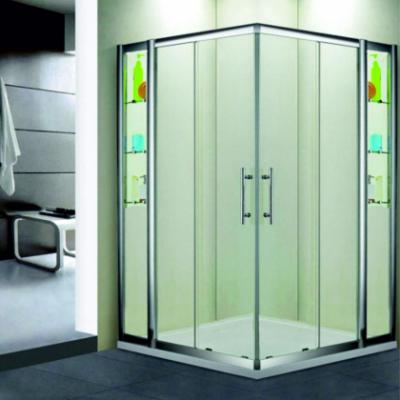 Душевой уголок RGW HO-312, 030631233-11, 130 х 130 x 195 см, дверь раздвижная, стекло прозрачное, хром