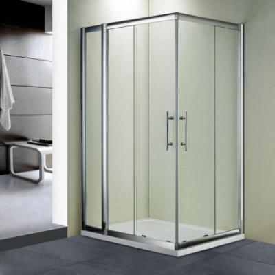 Душевой уголок RGW HO-42, 03064281-11, 80 х 110 x 195 см, дверь раздвижная, стекло прозрачное, хром