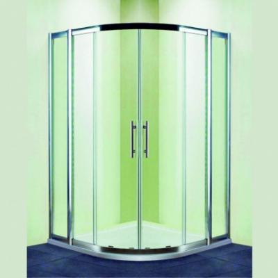 Душевой уголок RGW HO-511, 030651111-11, 110 х 110 x 195 см, четверть круга, дверь раздвижная, стекло прозрачное, хром