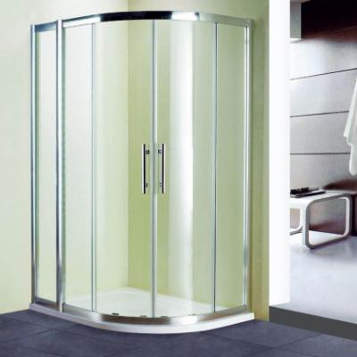 Душевой уголок RGW HO-61, 03066192-11, 90 х 120 x 195 см, асимметричный, дверь раздвижная, стекло прозрачное, хром
