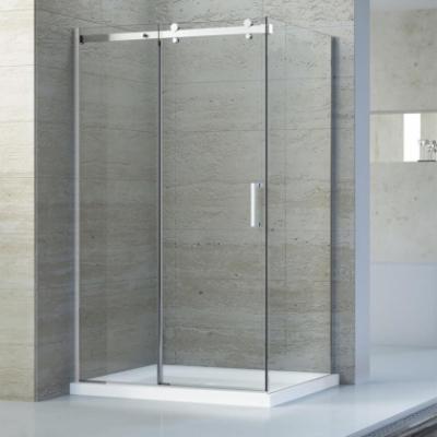 Душевой уголок RGW TO-44, 02074460-11, 160 x 100 х 195 см, дверь раздвижная, стекло прозрачное, хром