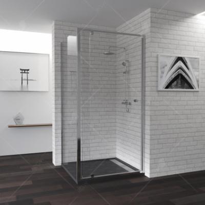 Душевой уголок RGW PA-32, 04083277-11, 70 х 70 x 185 см, дверь распашная, стекло прозрачное, хром