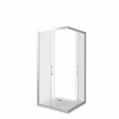 Душевой уголок Good Door Neo CR-80-C-CH 80 х 80 х 185 см, НЕ00011, стекло прозрачное, профиль хром