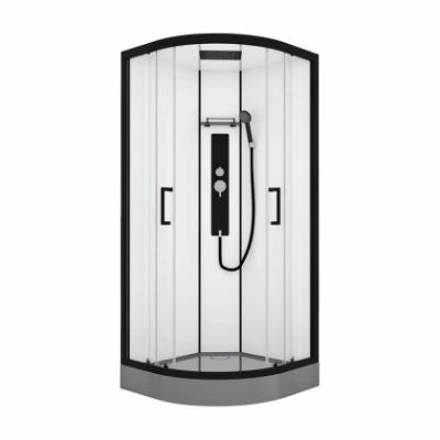 Душевая кабина Black&White Galaxy G8001, 90 x 90 см, гидромассажная