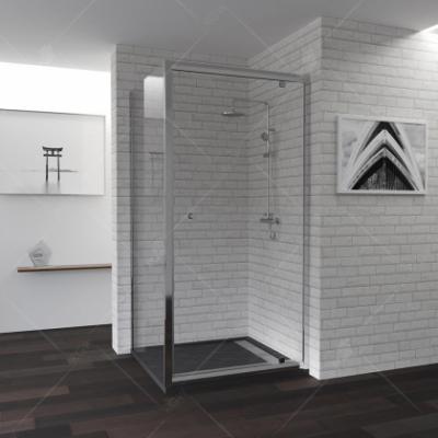 Душевой уголок RGW PA-35, 04083577-11, 70 х 70 x 185 см, дверь распашная, стекло прозрачное, хром