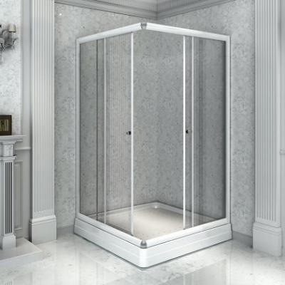 Душевой уголок Радомир 90, 110 х 90 см, стекло матовое