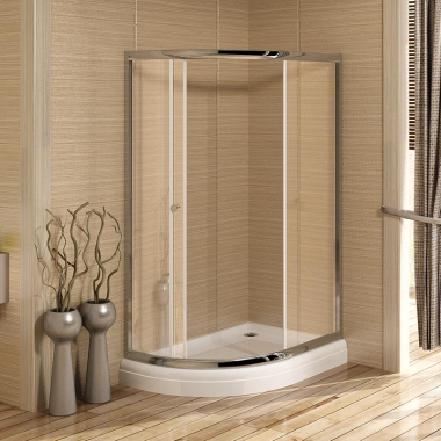 Душевой уголок Радомир 120 х 90 х 216 см, стекло матовое
