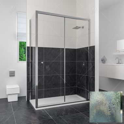 Душевой уголок RGW CL-45, 04094529-51, 120 х 90 x 185 см, дверь раздвижная, стекло шиншилла, хром