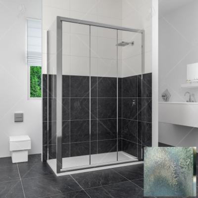 Душевой уголок RGW CL-45, 04094539-51, 130 х 90 x 185 см, дверь раздвижная, стекло шиншилла, хром