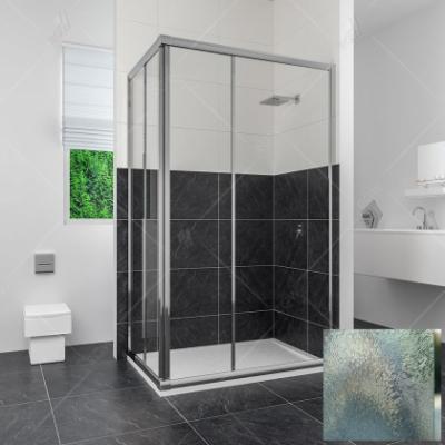 Душевой уголок RGW CL-42, 04094292-51, 90 x 120 х 185 см, дверь раздвижная, стекло шиншилла, хром