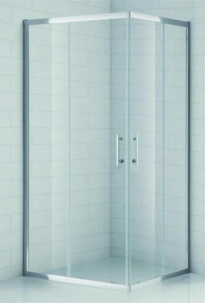 Душевой уголок Cezares Eco-O-AH-2-120/90-C-Cr, 120 x 90 x 190 см, стекло прозрачное, хром