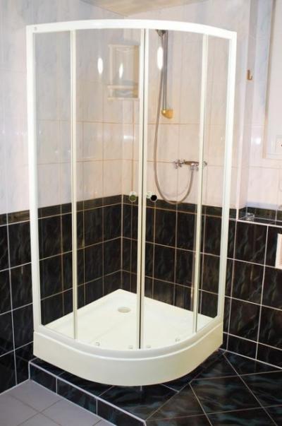 Душевое ограждение Iddis TF90WL 90 x 90 x 185 см стекло прозрачное, белый