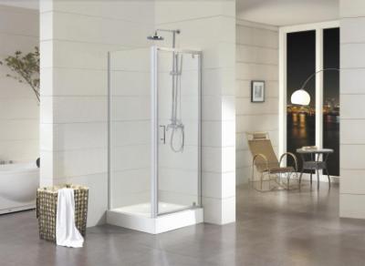 Душевой уголок Bravat Drop BS090.2110A, 90 x 90 x 200 см, дверь распашная, стекло прозрачное, хром