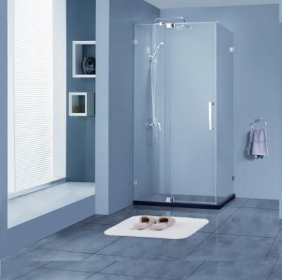 Душевой уголок Bravat Vega BS120.3111A, 120 x 80 x 200 см без профиля, дверь распашная, стекло прозрачное, хром