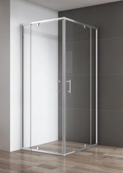 Душевой уголок Cezares VARIANTE-A/AH-2-100/110-C-Cr, 100 х 110 х 195 см, стекло прозрачное