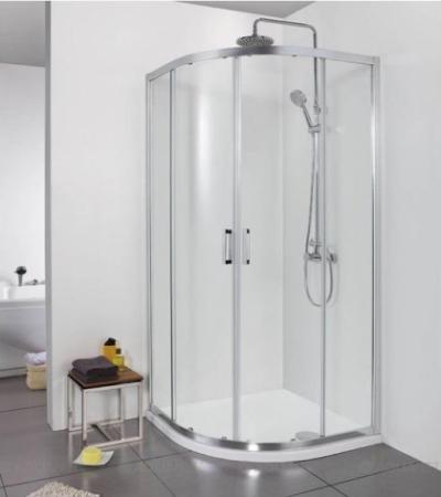 Душевой уголок Aquanet Alfa NAA2142 90 x 90 см, 00203799, стекло прозрачное