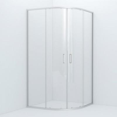 Душевое ограждение Iddis Zodiac ZOD6CR0i23 100 x 100 x 195 см стекло прозрачное, хром
