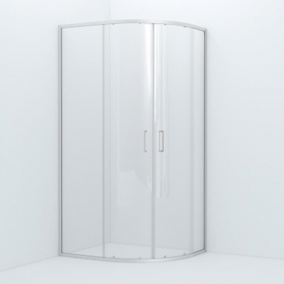 Душевое ограждение Iddis Zodiac ZOD6CR8i23 100 x 80 x 195 см стекло прозрачное, хром