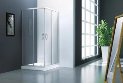 Душевой уголок Veconi Rovigo RV-11HS, 90 x 90 см, профиль хром, стекла прозрачные