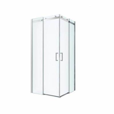 Душевой уголок Berges Wasserhaus Gelios 061022, 90 х 90 см, стекло прозрачное, профиль хром