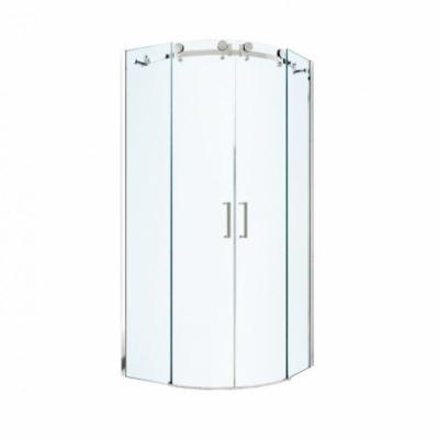 Душевой уголок Berges Wasserhaus Gelios 061025, 90 х 90 см, стекло прозрачное, профиль хром