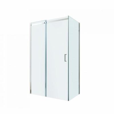 Душевой уголок Berges Wasserhaus Melita 061015, 100 х 80 см, стекло прозрачное, профиль хром