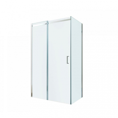 Душевой уголок Berges Wasserhaus Melita 061016, 110 х 80 см, стекло прозрачное, профиль хром