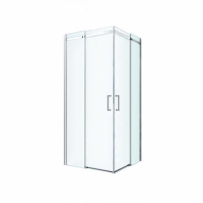 Душевой уголок Berges Wasserhaus Melita 061023, 80 х 80 см, стекло прозрачное, профиль хром