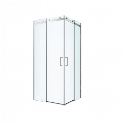 Душевой уголок Berges Wasserhaus Gelios 061027, 100 х 100 см, стекло прозрачное, профиль хром