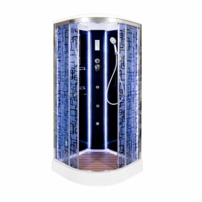 Душевая кабина Deto BM1590 с LED-подсветкой и с гидромассажем