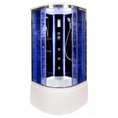Душевая кабина Deto BМ4510 с LED-подсветкой и с гидромассажем