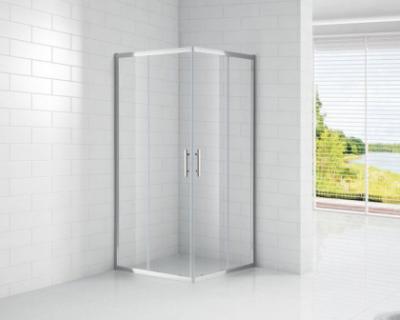 Душевой уголок Cezares ECO-O-A-2-100-C-Cr, 100 х 100 х 190 см, стекло прозрачное