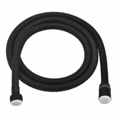 Душевой шланг Lemark LE8022S-Black 120 см, с функцией вращения лейки, сталь, черный