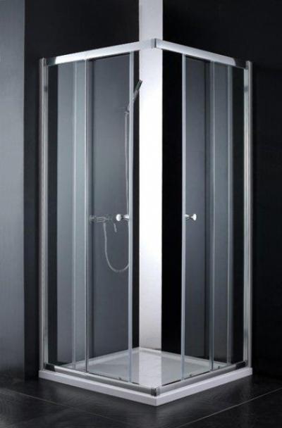 Душевой уголок Cezares ANIMA-A-2-100, 100 х 100 х 200 см, стекло прозрачное