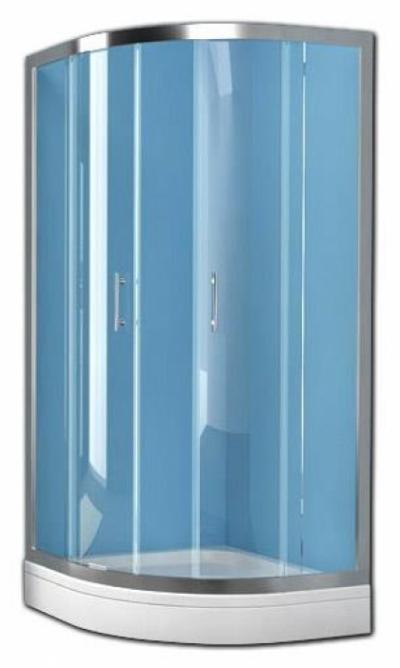 Душевой уголок Kolpa-San Q-LINE TKP, 80 x 80 х 190 см, стекло прозрачное