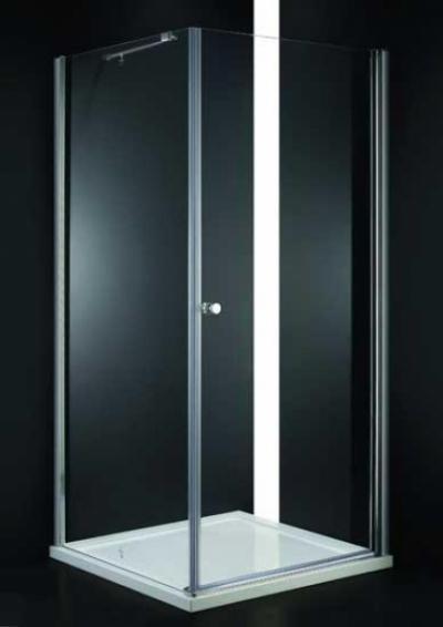 Душевой уголок Cezares ELENA-A-1-90-Cr,  90 х 90 х 195 см, стекло на выбор