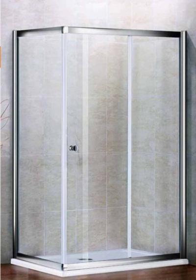 Душевой уголок Cezares PRATICO-AH-1-100/80-Cr, 100 х 80 х 200 см, стекло прозрачное
