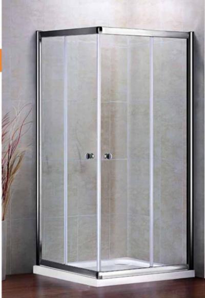 Душевой уголок Cezares PRATICO-A-2-80-Cr, 80 х 80 х 185 см, стекло прозрачное/текстурное