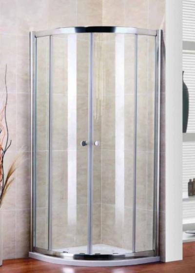Душевой уголок Cezares PRATICO-R-2-90-Cr, 90 х 90 х 185 см, стекло прозрачное