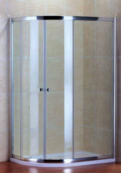 Душевой уголок Cezares PRATICO-RH-2-100/80-Cr, 100 х 80 х 185 см, стекло прозрачное