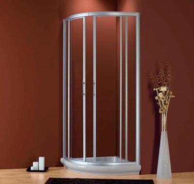 Душевой уголок 2B Box Docce HIT 2810, 90 х 90 х 186 см, стекло прозрачное/рифленное