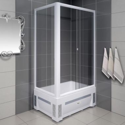 Душевой уголок Радомир Верчелли, 120 х 80 х 227 см, стекло прозрачное