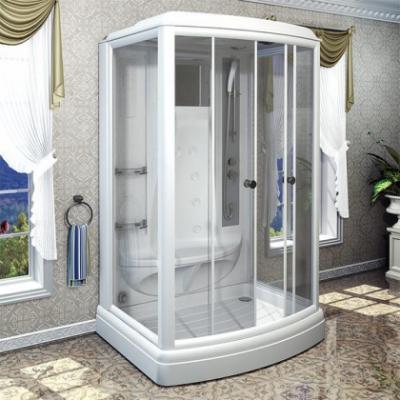 Душевая кабина Радомир Диана-3 140 х 108 см с гидромассажем и паром