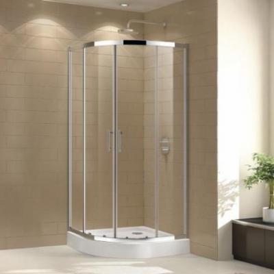 Душевой уголок Cezares ECO-O-R-2-80-Cr, 80 х 80 х 190 см, стекло прозрачное/матовое